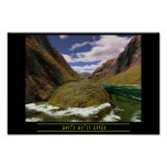 Whitewater Gorge Poster