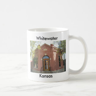 Whitewater Kansas - banco Taza