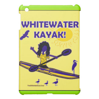 Whitewater Kayak! Clothing & Such iPad Mini Covers