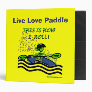 Whitewater Kayak Roll Binder
