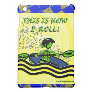Whitewater Kayak Roll iPad Mini Cases