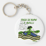 Whitewater Kayak Roll Keychains
