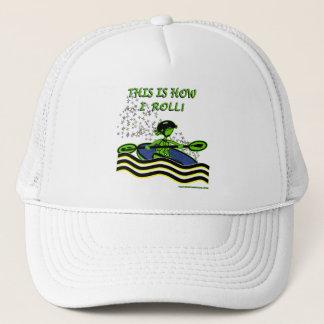 Whitewater Kayak Roll Trucker Hat