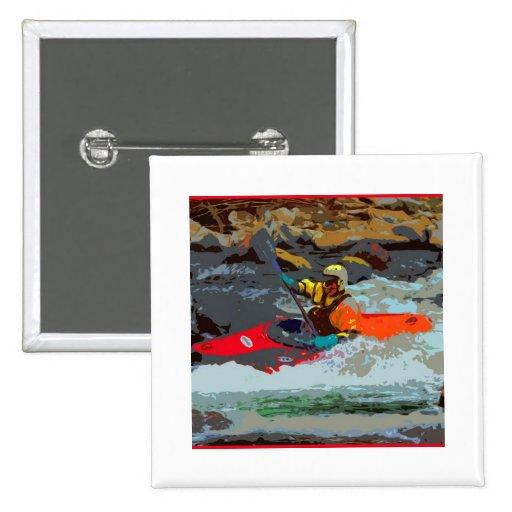 Whitewater Kayaking Button