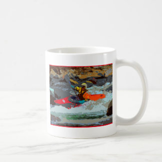 Whitewater Kayaking Coffee Mug