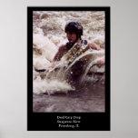 Whitewater Kayaking Posters