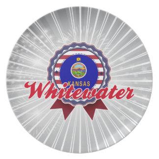 Whitewater, KS Dinner Plates