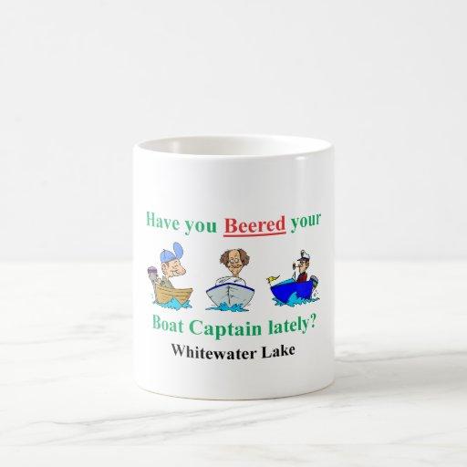 whitewater new beer coffee mug