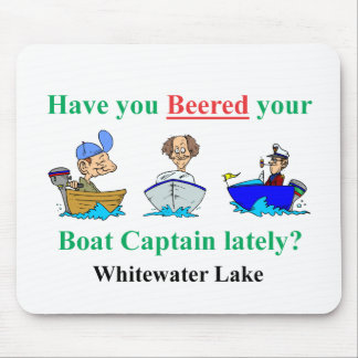 whitewater new beer mouse pad