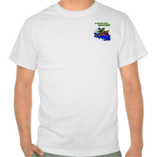 Whitewater Paddles Well With Others T-shirts