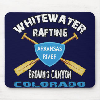 Whitewater Rafting Brown's Canyon Mouse Pad