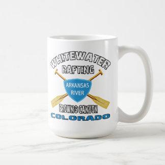 Whitewater Rafting Brown's Canyon Classic White Coffee Mug