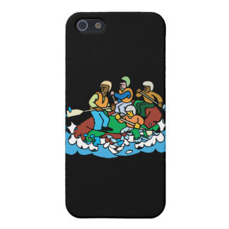 whitewater rafting trip graphic case for iPhone SE/5/5s