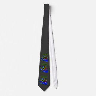 Whitewater se bate bien con otros corbatas personalizadas