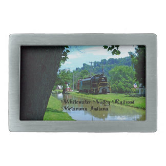 Whitewater Valley Railroad Belt Buckle