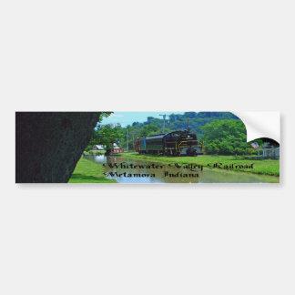 Whitewater Valley Railroad Bumper Sticker