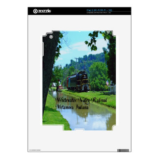 Whitewater Valley Railroad Decals For The iPad 2