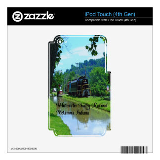 Whitewater Valley Railroad iPod Touch 4G Decal