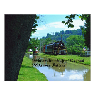 Whitewater Valley Railroad Letterhead