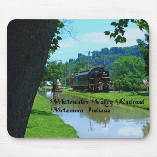 Whitewater Valley Railroad Mouse Pad