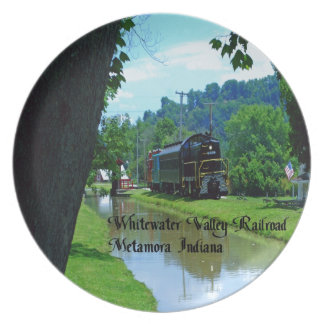 Whitewater Valley Railroad Plate