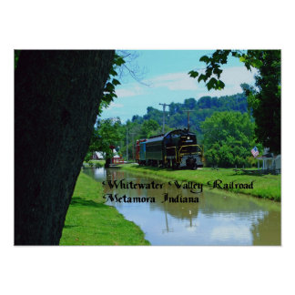 Whitewater Valley Railroad Poster