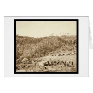 Whitewood Canyon & Wade & Jones RR SD 1890 Card