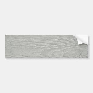 WHITEWOOD LIGHT GREY GRAY WOOD GRAIN TEXTURE TEMPL BUMPER STICKER