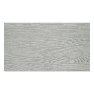 WHITEWOOD LIGHT GREY GRAY WOOD GRAIN TEXTURE TEMPL Double-Sided STANDARD BUSINESS CARDS (Pack OF 100)