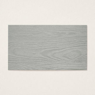 WHITEWOOD LIGHT GREY GRAY WOOD GRAIN TEXTURE TEMPL BUSINESS CARD