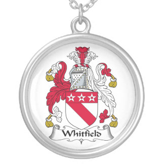 Whitfield Family Crest Silver Plated Necklace