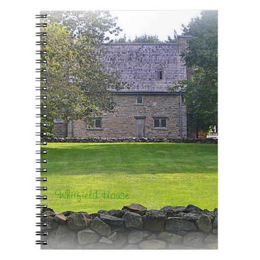 Whitfield House Notebook
