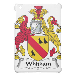 Whitham Family Crest iPad Mini Cases