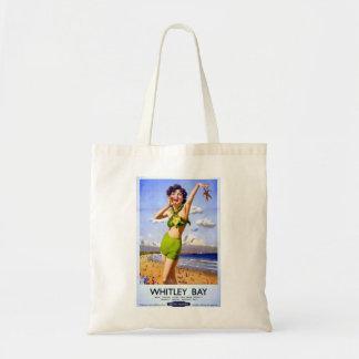 Whitley Bay Vintage Ad Bag