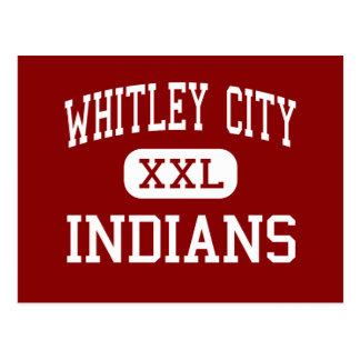 Whitley City - Indians - Middle - Stearns Kentucky Postcard