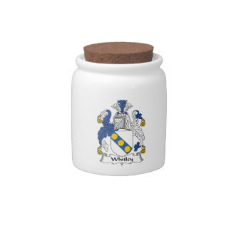 Whitley Family Crest Candy Jars