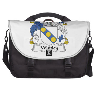 Whitley Family Crest Bags For Laptop