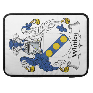 Whitley Family Crest Sleeves For MacBooks