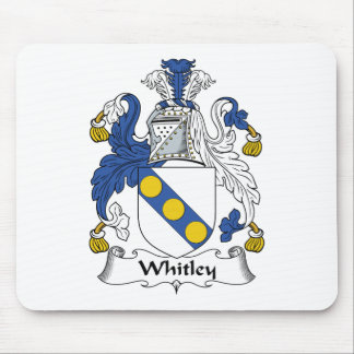 Whitley Family Crest Mouse Pad