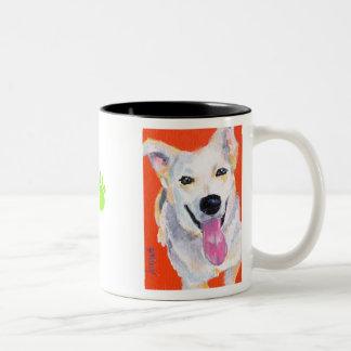 Whitley's Gonzo Two-Tone Coffee Mug