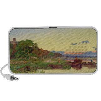 Whitlingham, Norfolk, 1860 (aceite en lona) iPod Altavoz
