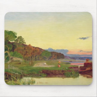 Whitlingham, Norfolk, 1860 (oil on canvas) Mouse Pad