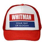 WHITMAN 2010 TRUCKER HAT