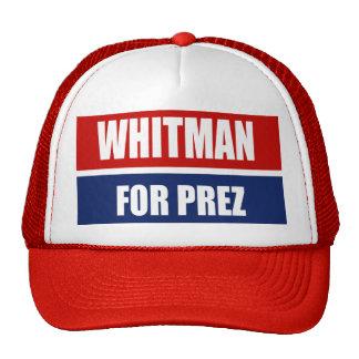 WHITMAN 2012 TRUCKER HAT