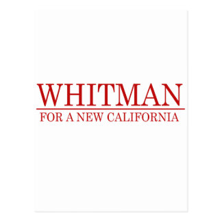 Whitman - A New California Postcard