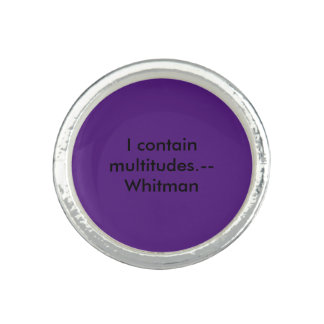 Whitman Anillos