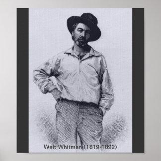 Whitman cuando jóvenes póster