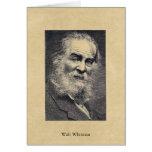 "Whitman ""felicidad…"" en la postal del momento tarjetas"