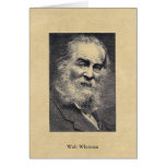 """Whitman """"Happiness..."""" in the moment postcard Greeting Card"""