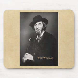 Whitman in New York 1848 Mouse Pad